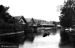 Goring, The Boat Houses 1904
