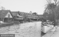 Goring, The Boathouse c.1955