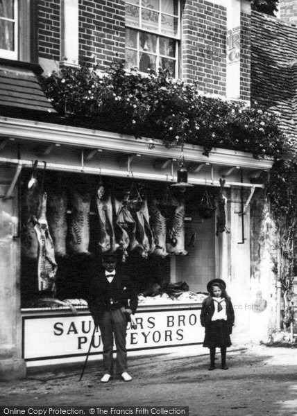 Photo of Goring, The Butchers 1904