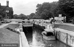 Goring, The Lock c.1950