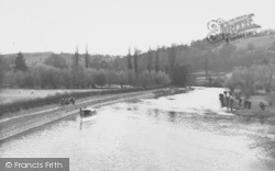 Goring, The River c.1960