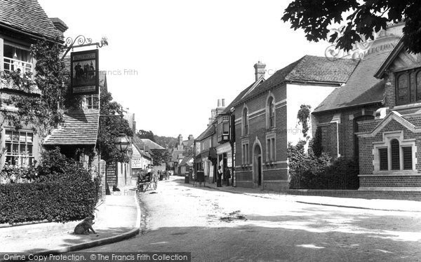 Goring, Village 1899.  (Neg. 42991)  © Copyright The Francis Frith Collection 2008. http://www.francisfrith.com