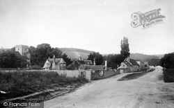 Goring, Village And Church 1890