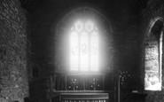 Gorran Haven, Chancel, St Just Church c.1955