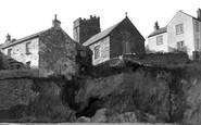 Gorran Haven, Church From Beach c.1955
