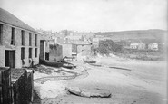 Gorran Haven, From Beach 1890
