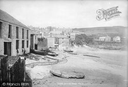 Gorran Haven, From Beach 1890