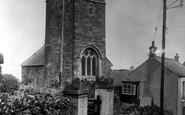 Gorran Haven, St Just Church c.1955