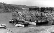 Gorran Haven, The Breakwater c.1955