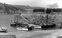Gorran Haven, The Breakwater c.1955