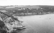 Gorran Haven, The Cliffs c.1955