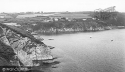 Gorran Haven, The Cliffs c.1955