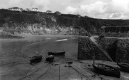 Gorran Haven, The Harbour c.1955