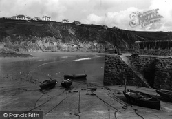 Gorran Haven, The Harbour c.1955