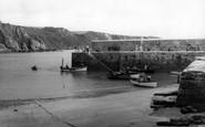 Gorran Haven, The Harbour c.1960