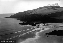 Gorran Haven, The Headland c.1955