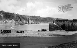 Gorran Haven, The Jetty c.1955