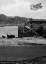 The Jetty c.1955, Gorran Haven