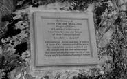 Gorran Haven, The Sir John Fischer Williams Memorial c.1955