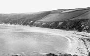 Gorran Haven, Vault Beach c.1955
