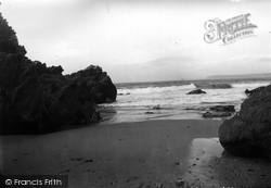 Gorran Haven, Veryan Bay c.1955