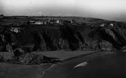 Gorran Haven, View From Cliffs c.1955
