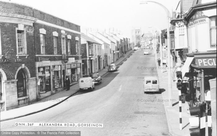 Photo of Gorseinon, Alexandra Road c.1960