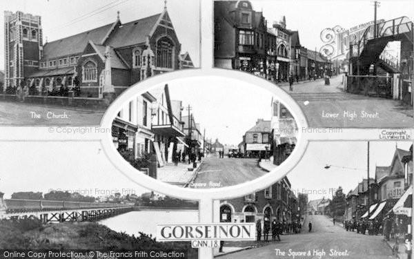 Photo of Gorseinon, Composite c.1935