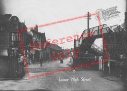 Gorseinon, Lower High Street c.1935