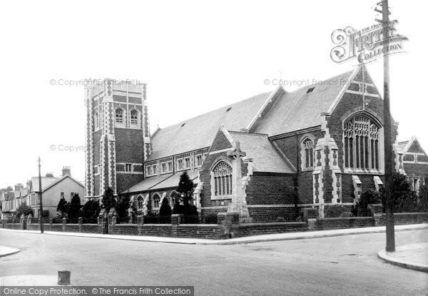 Photo of Gorseinon, St Catherine's Church 1936