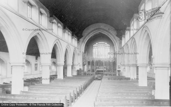 Photo of Gorseinon, St Catherine's Church Interior c.1960