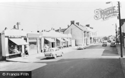 Gorseinon, Temple Buildings c.1960
