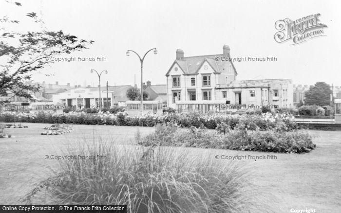 Photo of Gorseinon, The Gardens And Bus Station c.1965