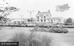 Gorseinon, The Gardens And Bus Station c.1965