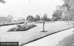 Gorseinon, The Gardens Showing Bethal Chapel c.1965