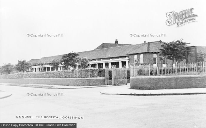 Photo of Gorseinon, The Hospital c.1950