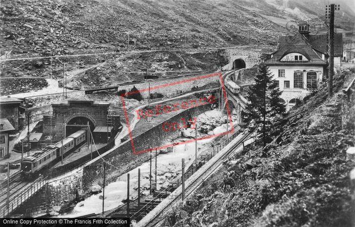 Photo of Göschenen, Gotthard And Schossenen Railway c.1935