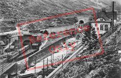 Gotthard And Schossenen Railway c.1935, Göschenen