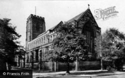All Saints Church c.1955, Gosforth