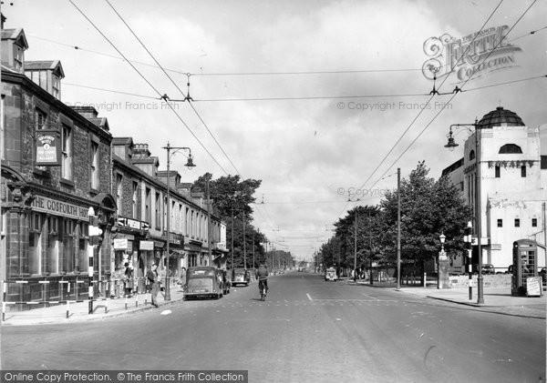 Gosforth, High Street 1956