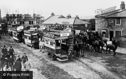 High Street c.1900, Gosforth