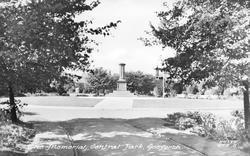 Memorial, Central Park c.1955, Gosforth