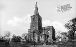 Parish Church c.1900, Gosforth