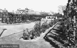 The Park Rose Garden c.1955, Gosforth