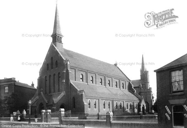 Photo of Gosport, St John's Church, Forton 1898