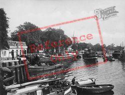 Hollandse Ijssel c.1930, Gouda