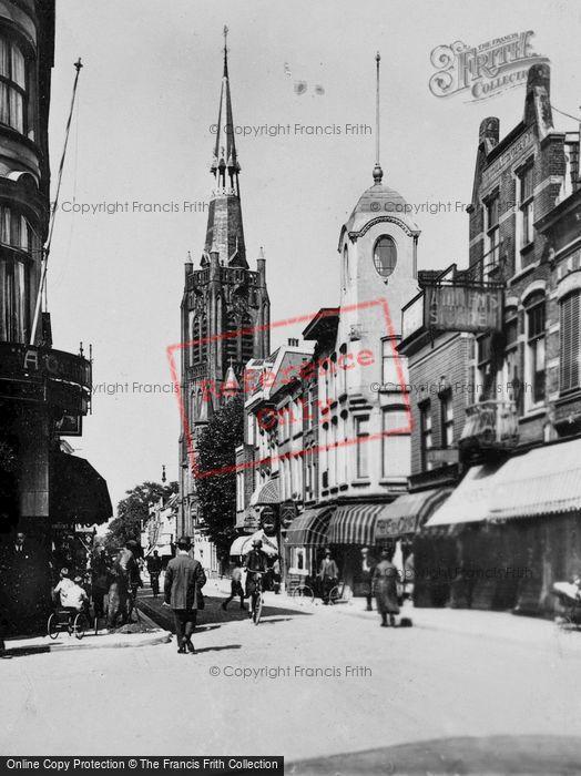 Photo of Gouda, Kleiweg And Kleiwegkerk c.1930