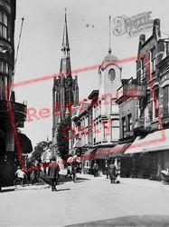 Kleiweg And Kleiwegkerk c.1930, Gouda