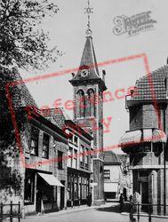 Kuiperstraat And Barbaratoren c.1930, Gouda