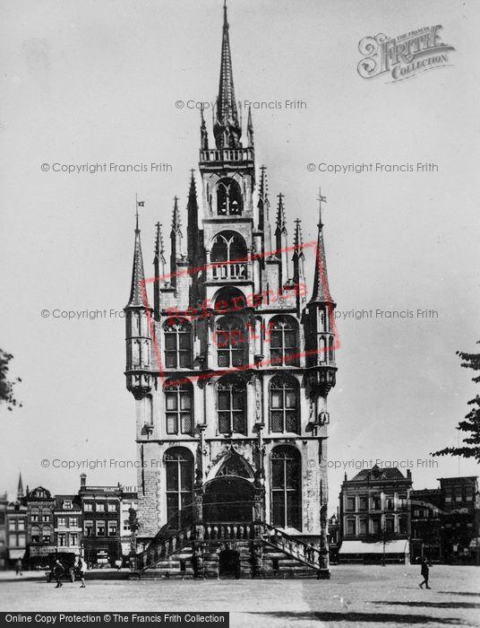 Photo of Gouda, Stadhuis c.1930